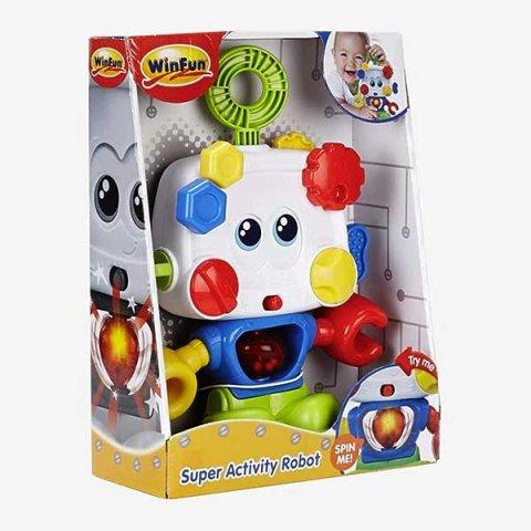 اسباب بازی ربات بازی موزیکال winfun کد 00698