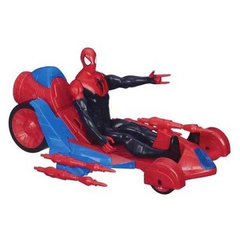 اکشن فیگور مرد عنکبوتی با ماشین کد 8491A