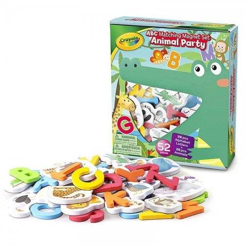 حروف و حیوانات مگنتی 52 تکه crayola کد 994801