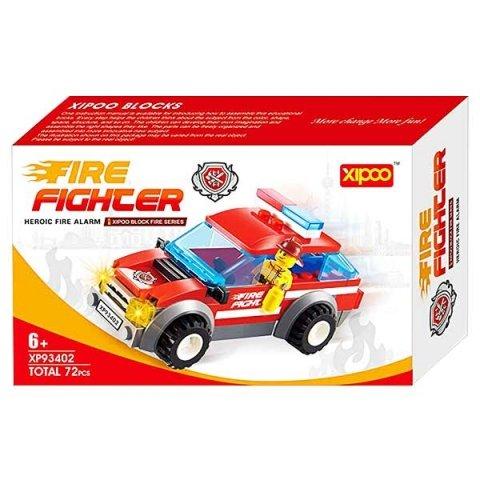 لگو آتش نشانی با مینی فیگور 72 تکه firefighter کد 93402