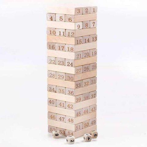 اسباب بازی چوبی جنگا کد 3064