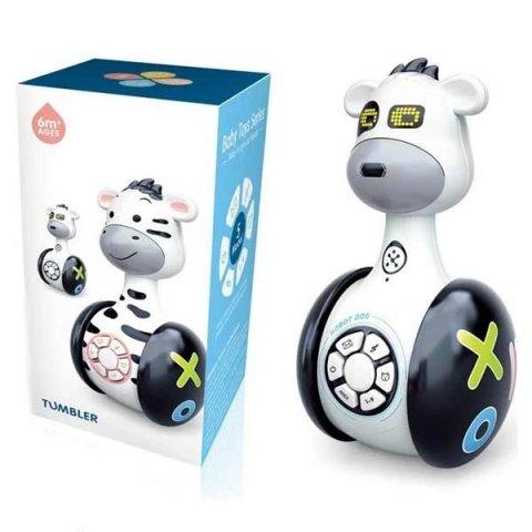 اسباب بازی موزیکال گاو چرخدار مشکی tumbler کد 104054