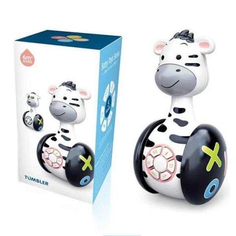 اسباب بازی موزیکال گاو چرخدار مشکی tumbler کد 104154