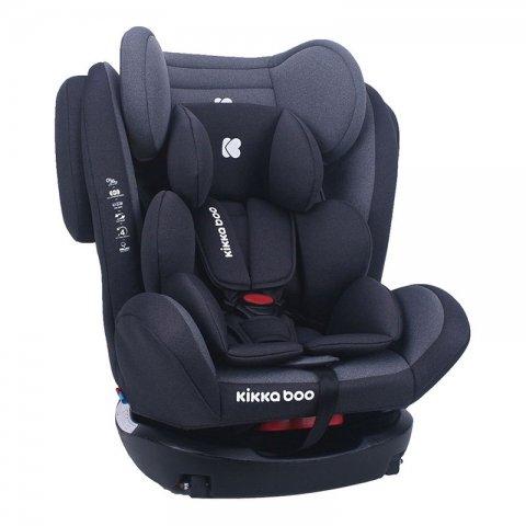 صندلی ماشین کودک KIKKA BOO مدل 4Fix dark grey