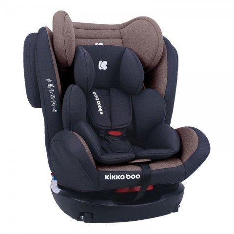 صندلی ماشین کودک KIKKA BOO مدل 4Fix brown