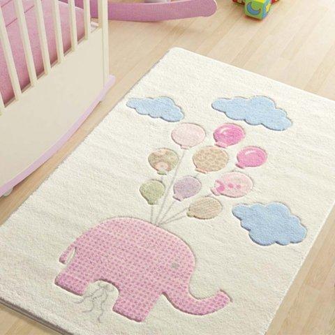 فرش اتاق کودک Confetti طرح فیل کد 71751