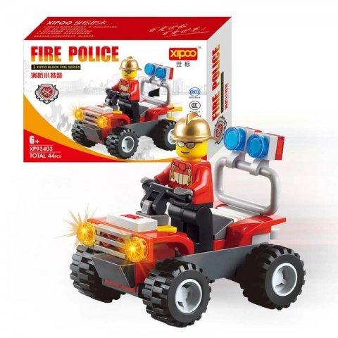 لگو مامور آتش نشانی 44 تکه کد 93403