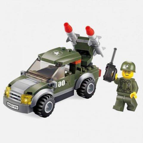 لگو ماشین جنگی 96 تکه کد 91006