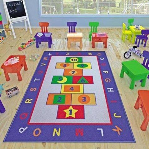 فرش اتاق کودک Confetti طرح آموزش و بازی کد 3730921