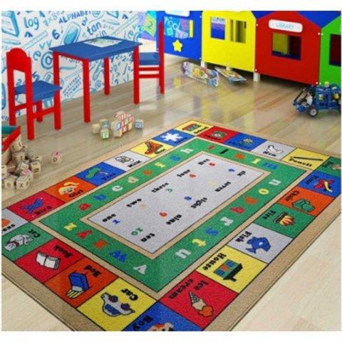 فرش اتاق کودک Confetti طرح آموزشی کد 3730979