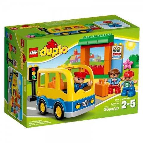 لگو دوپلو اتوبوس مدرسه کد 10528