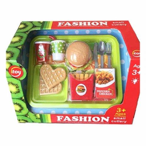 ست اسباب بازی همبرگر و سیب زمینی کد 3265