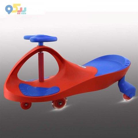 سه چرخه لوپ کار چرخ ژله ای چراغدار قرمز آبی کد 1201