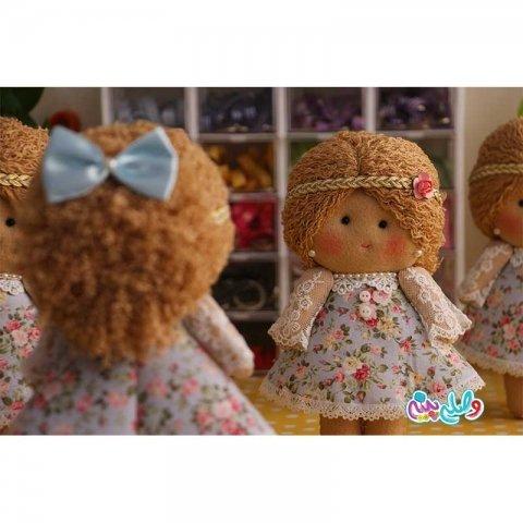 عروسک دخترانه وصله پینه کد 3751233