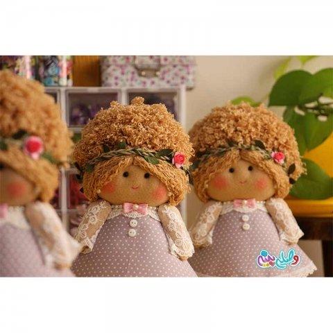 عروسک دخترانه وصله پینه کد 3751274