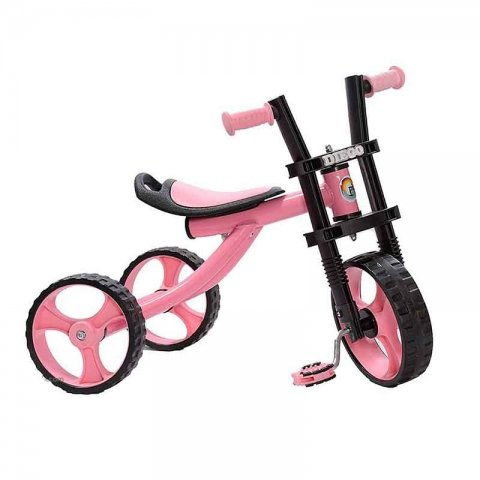 سه چرخه دیگو رنگ صورتی