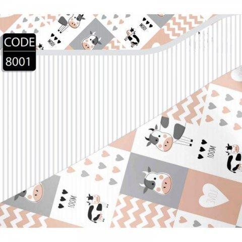 کاغذ کادو یک رو کد 8001