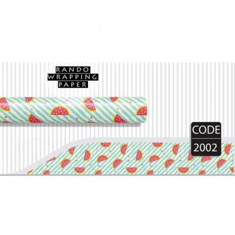 کاغذ کادو یک رو کد 2002
