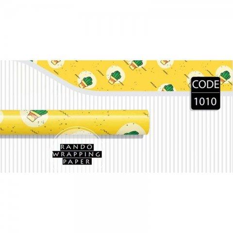 کاغذ کادو یک رو کد 1010