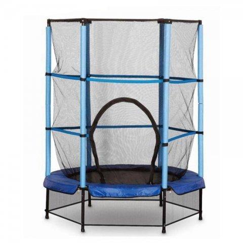 ترامپولین جامپینگ کودک قطر 140 سانتی متر رنگ آبی