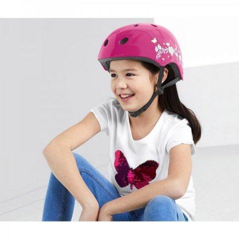 کلاه ایمنی دخترانه صورتی