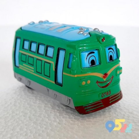 اتوبوس اسباب بازی فلزی کد 0783213