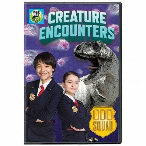 سی دی  odd squad قسمت creature encounters کد 00103034