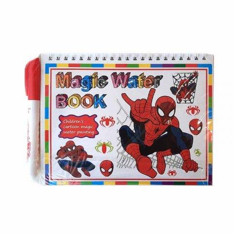 کتاب نقاشی با ماژیک جادویی طرح مرد عنکبوتی کد CD829