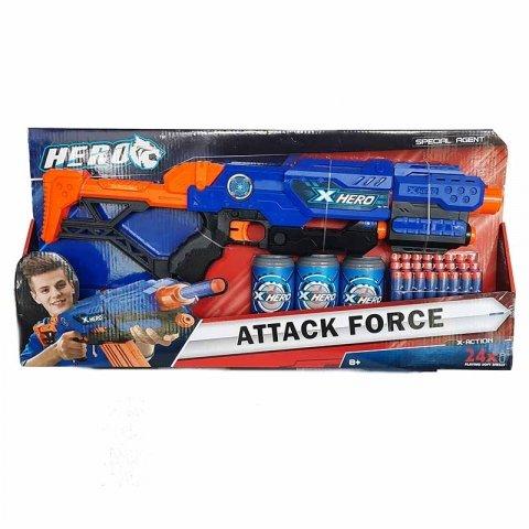 تفنگ اسباب بازی آبی کد BT8057