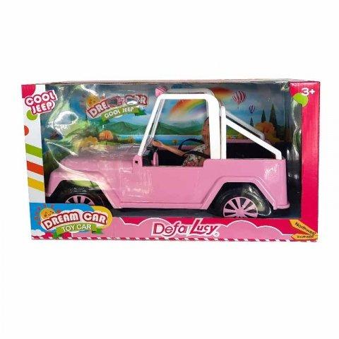 عروسک باربی با ماشین صورتی کد 8455