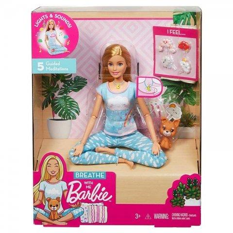 عروسک باربی یوگا کد GMJ72