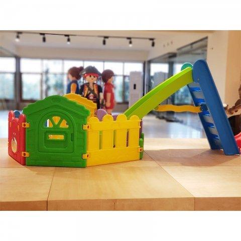 پارک بازی کودک با سرسره پیکو مدل 7 ضلعی