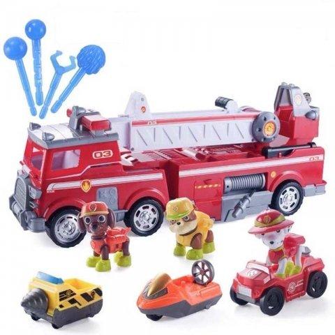 اسباب بازی سگهای نگهبان مدل ماشین آتش نشانی کد 21251