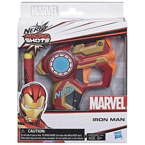تفنگ اسباب بازی قهرمانان مارول مرد آهنی  مدل نرف کد C2822QA