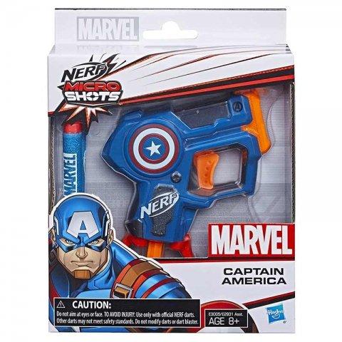 تفنگ اسباب بازی قهرمانان مارول کاپتان آمریکا مدل نرف کد C2822QA
