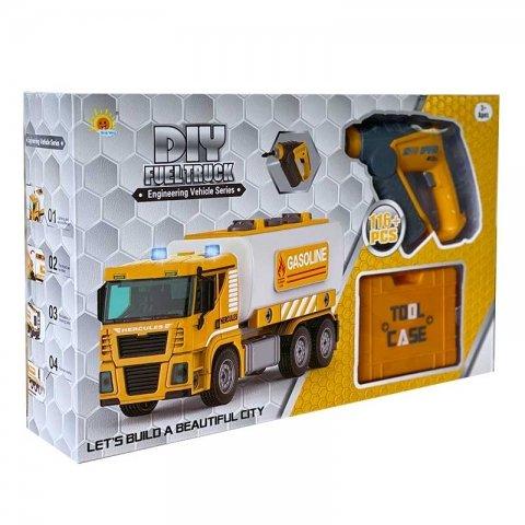 کامیون اسباب بازی ساختنی با ابزار کد 320210