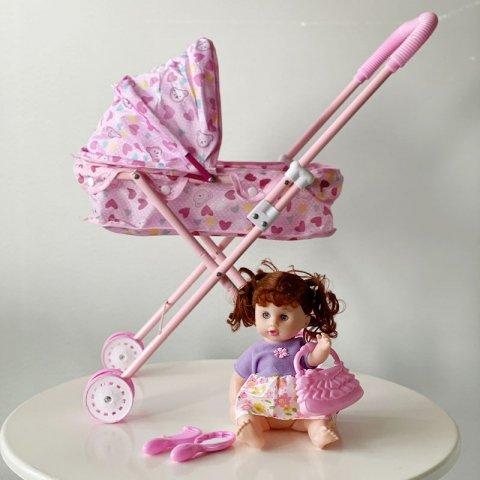 کالسکه عروسک کد 01615