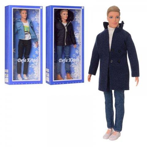عروسک باربی مرد kevin با کت بلند مدل دفا کد 8427