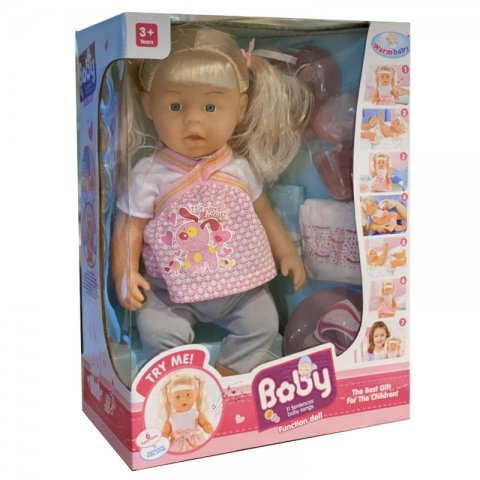 عروسک جیشی دخترانه کد wzj010-447