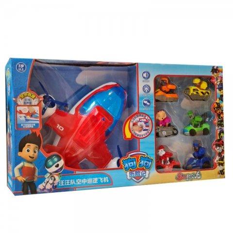 هواپیما اسباب بازی سگهای نگهبان با فیگور کد 2137A