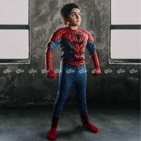 لباس مرد عنکبوتی کد کد 3817807
