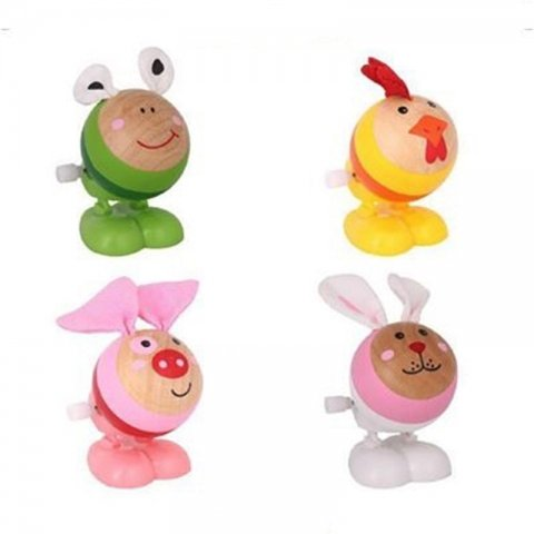 اسباب بازی حیوانات چوبی کوکی کد BZ-06-B