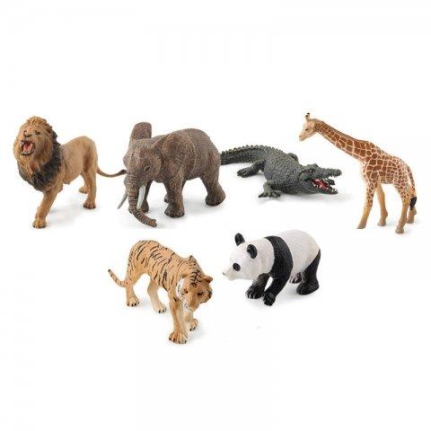 فیگور حیوانات جنگل 6 عددی کد 66-929