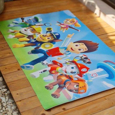 فرش بازی اتاق کودک مدل سگهای نگهبان کد 0343