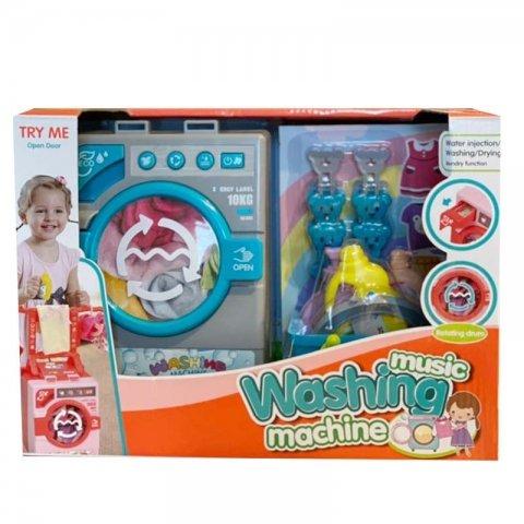 ماشین لباسشویی اسباب بازی رنگ آبی مدل 35883S