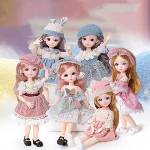 عروسک دخترانه طرح سرامیکی کد 95165