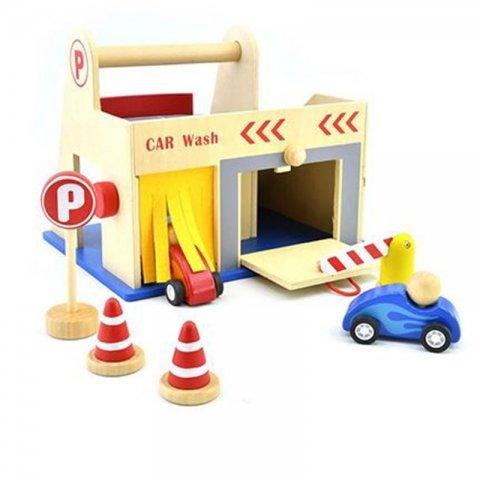 اسباب بازی پارکینگ چوبی 7 تکه پیکاردو کد BZ-22-D