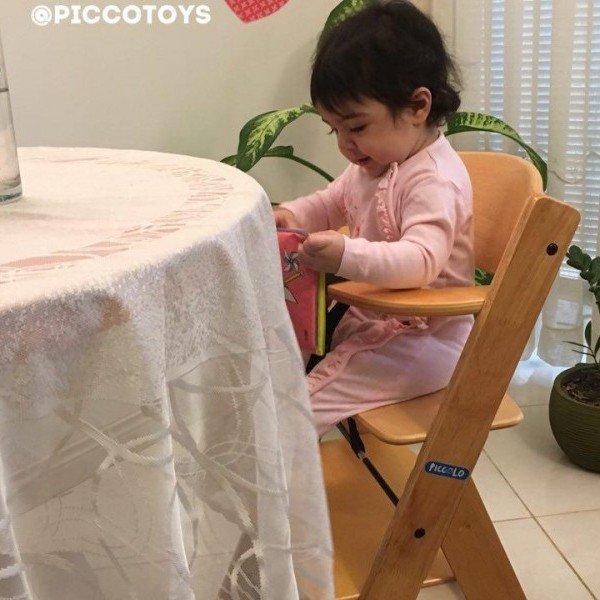 صندلی غذای چوبی کودک پیکولو piccolo