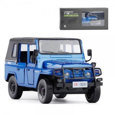 اسباب بازی ماشین جیپ عقب کش موزیکال رنگ آبی کد 823503