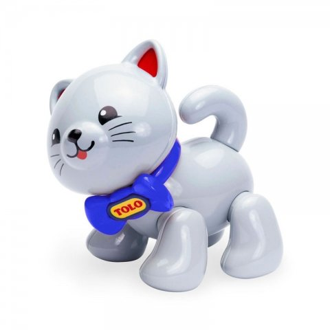اسباب بازی گربه طوسی tolo کد89614